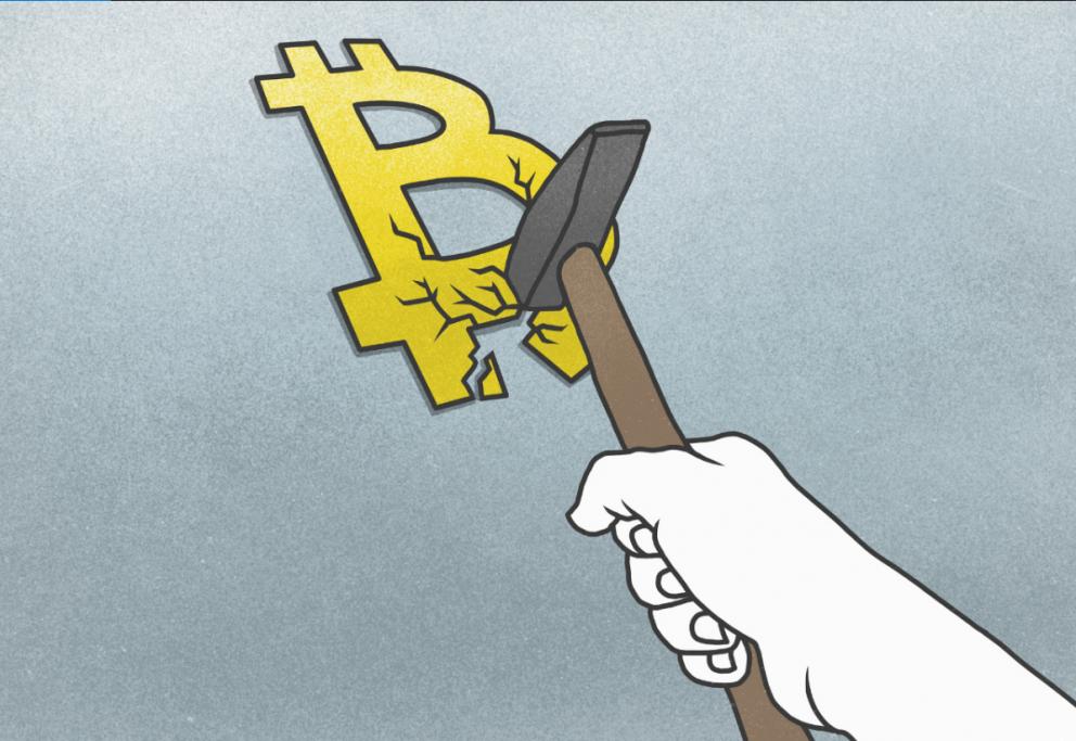 """中国严打""""虚拟货币"""",比特币周末惨跌!"""
