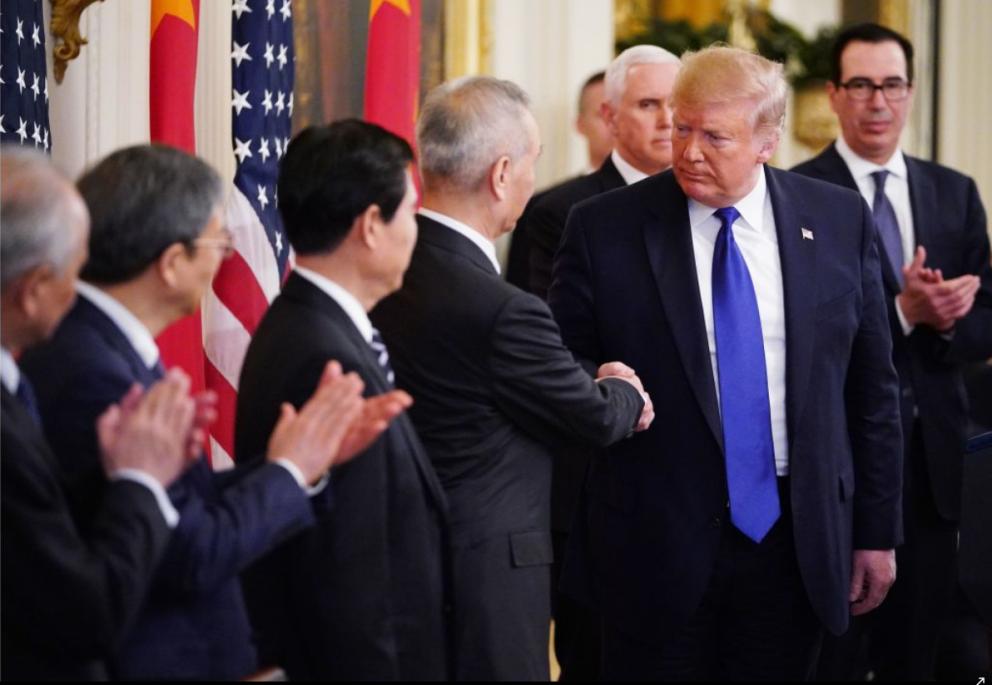 中美贸易协定签署,美元走跌