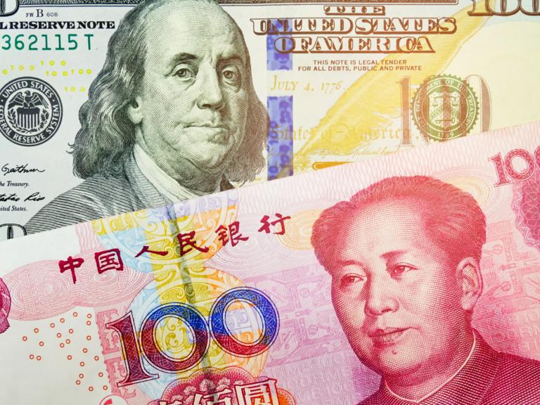 刷新7月高点,人民币兑美元继续升值