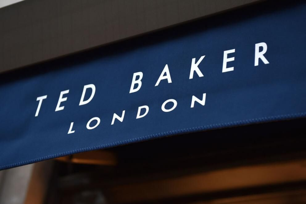 Ted Baker's share price gets battered