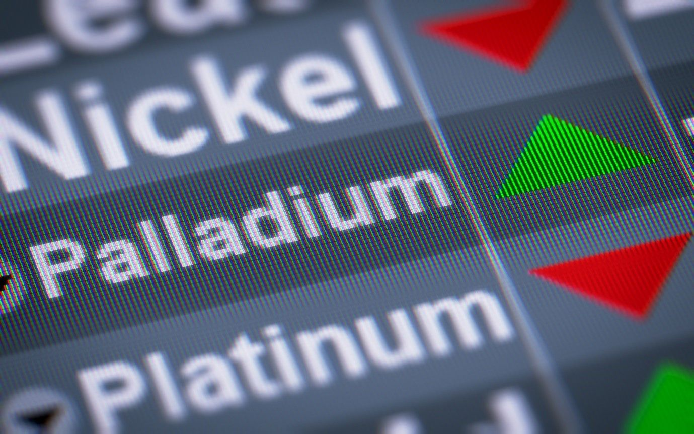Palladium – the lightest of the precious metals