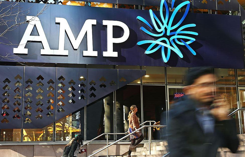 Global rally and local write downs - pressure on AMP shares