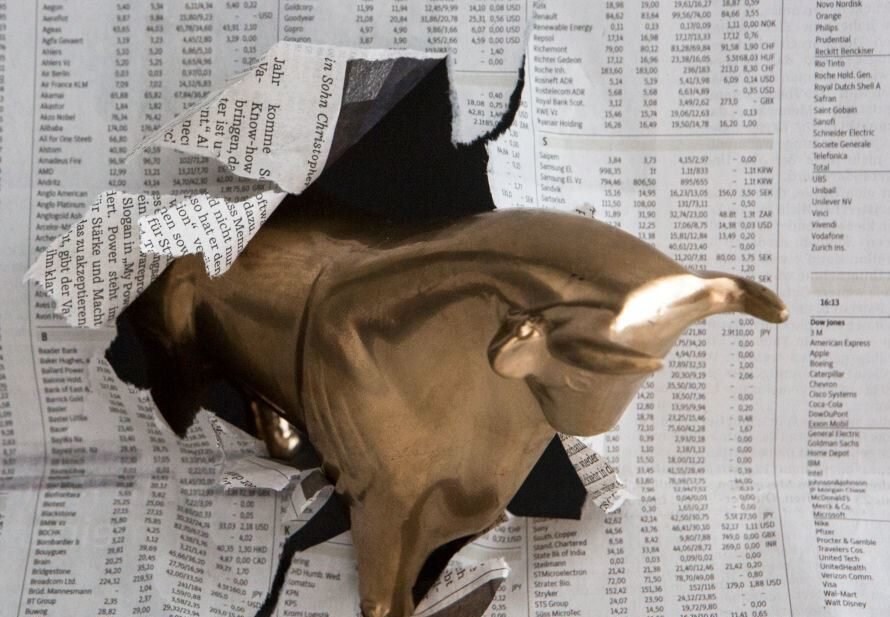 Shares rise despite dreadful data
