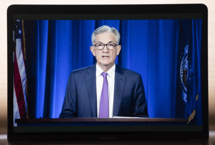 Powell more positive on US economy
