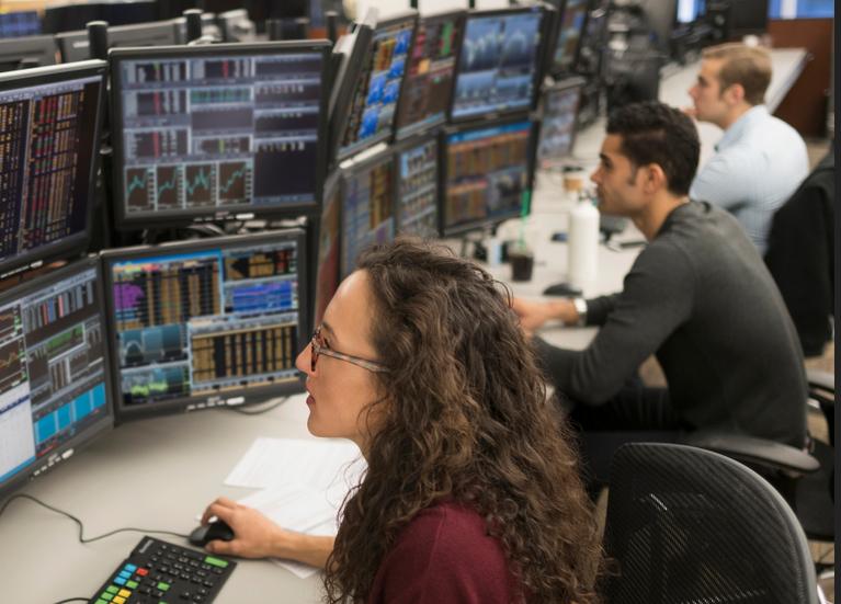 Markets steady on better data