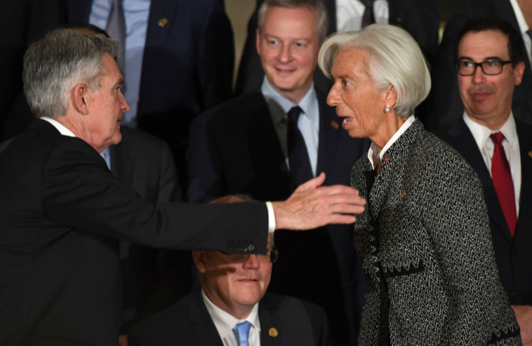 Central bankers warn as infections rise