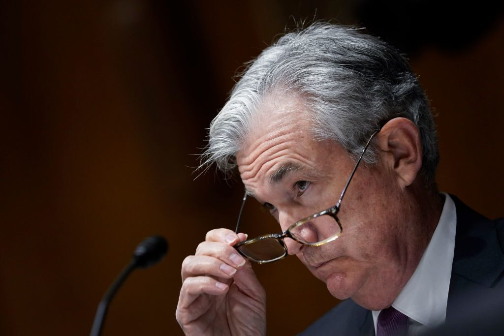 Powell comments weigh on yields
