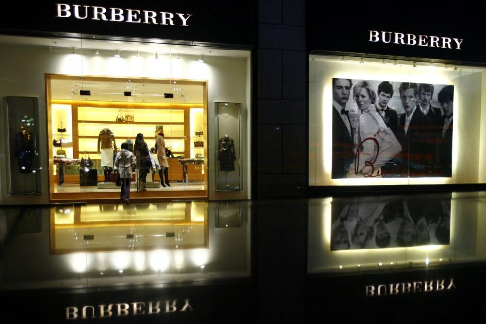 Burberry's share price dips post third-quarter numbers