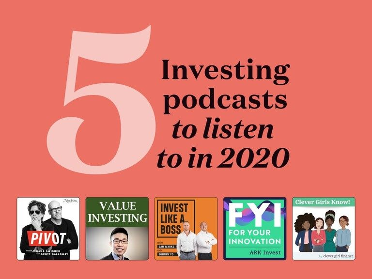 5 best investing podcasts in 2020