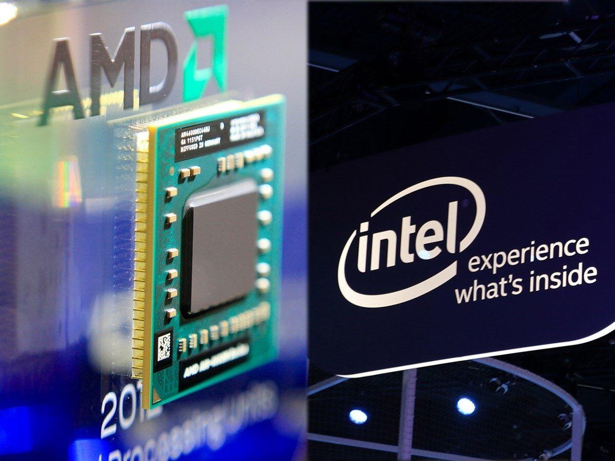 Markets subdued, Intel pops