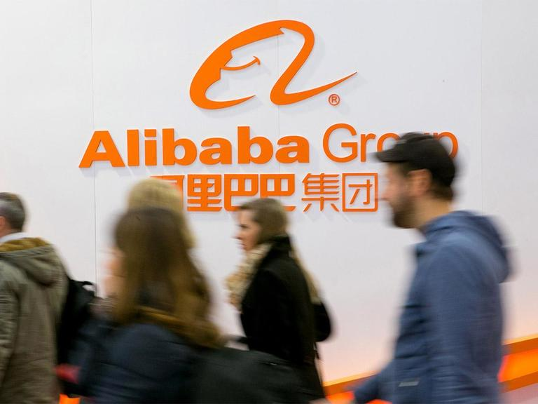 """Chart of the week – Potential """"Double Bottom"""" reversal in Alibaba (US ADR) ahead of earnings"""