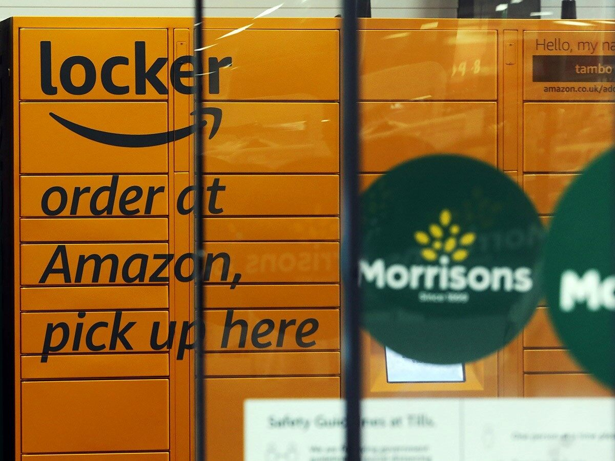 How will its venture into the supermarket sphere affect Amazon's share price?