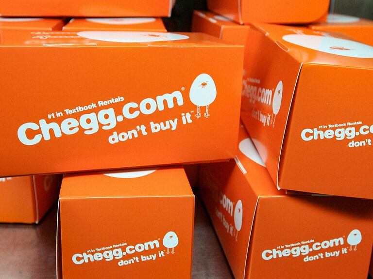 Is Chegg's share price fairly priced or poised to break out?