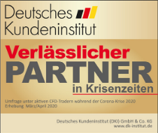 "DKI Deutsches Kundeninstitut Umfrage 2020: ""Krisenfester Broker"" mit der Note ""sehr gut"""