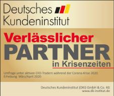 """DKI Deutsches Kundeninstitut Umfrage 2020: """"Krisenfester Broker"""" mit der Note """"sehr gut"""""""