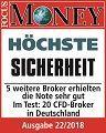 Höchste Sicherheit – Focus Money