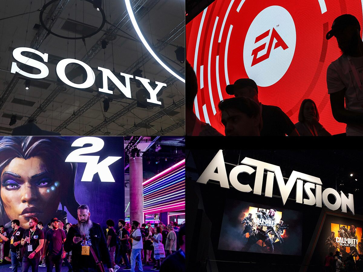 What's impacting EA, Activision, Sony and Take-Two's share prices?
