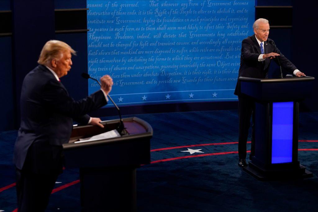 Risk-on sentiment dominates, all eyes on Trump-Biden battle