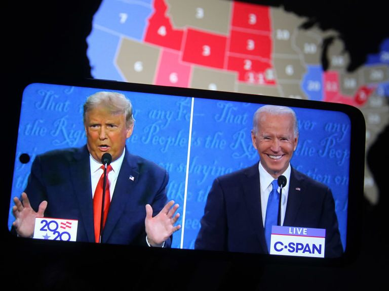 Sentiment still bullish ahead of Trump-Biden showdown