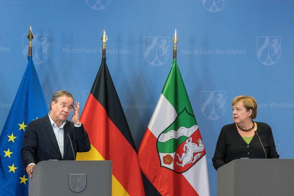 German election - Merkel set for exit, Laschet set to lose