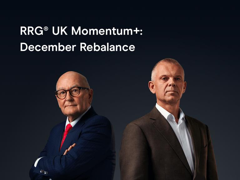 RRG® UK Momentum+ - Q1 Portfolio Rebalance