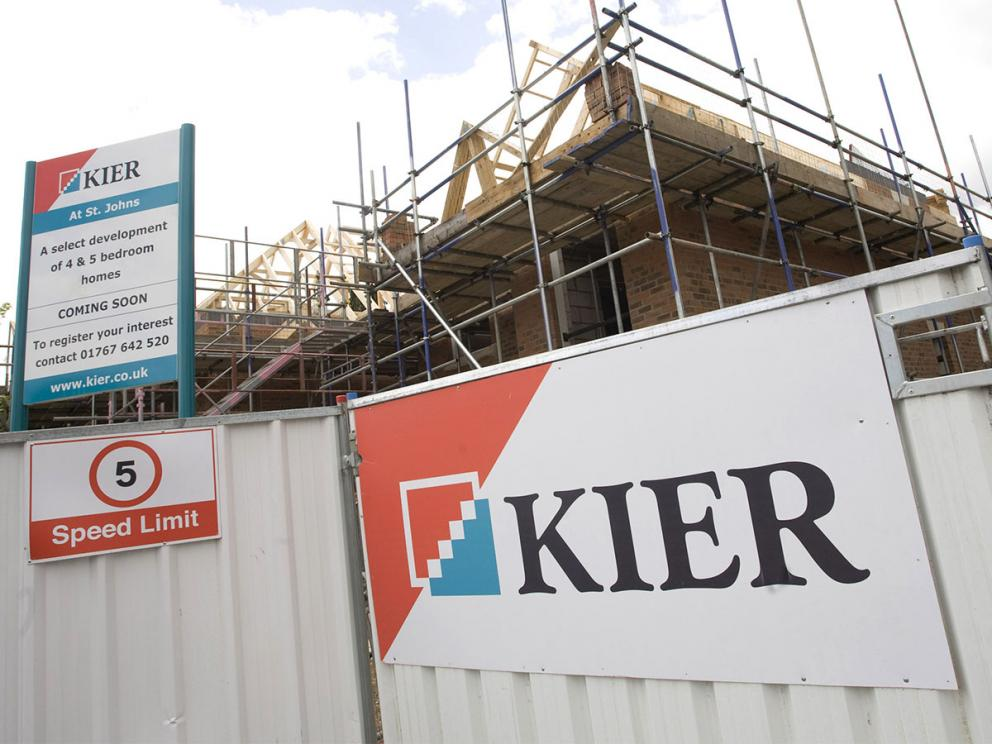Can Kier rebuild its share price?