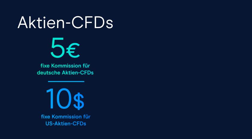 Nur bei CMC Markets: Aktien-CFDs mit fixen Kommissionen handeln