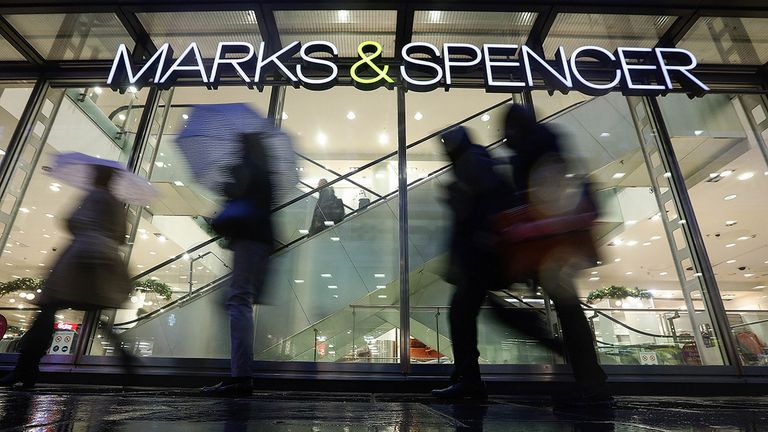 Marks and Spencer share price: M&S profits fall 20% as it outlines Never the Same Again strategy