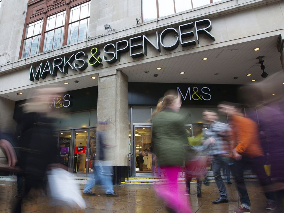 M&S share price loses its sparkle as it slides to a first-half loss