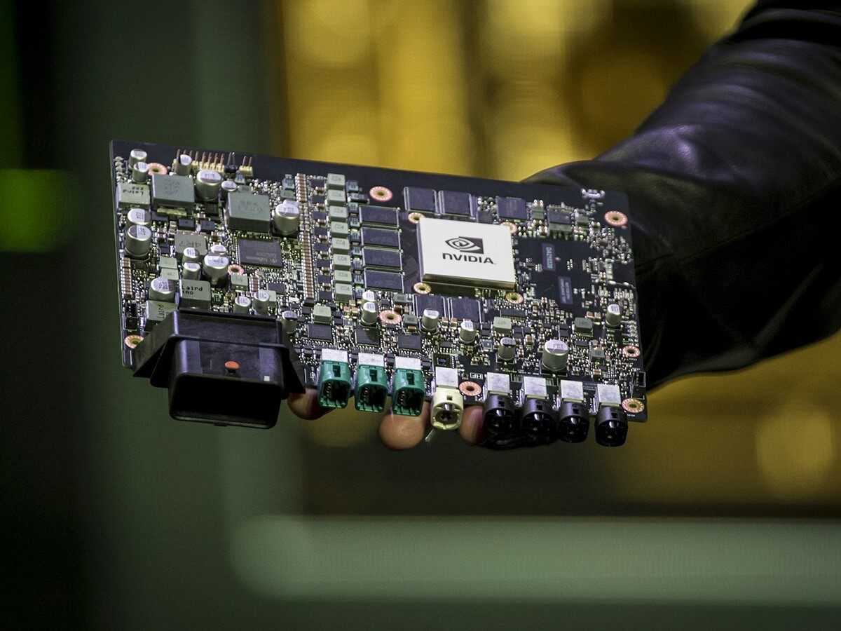 How Nvidia's share price took the chipmaker crown