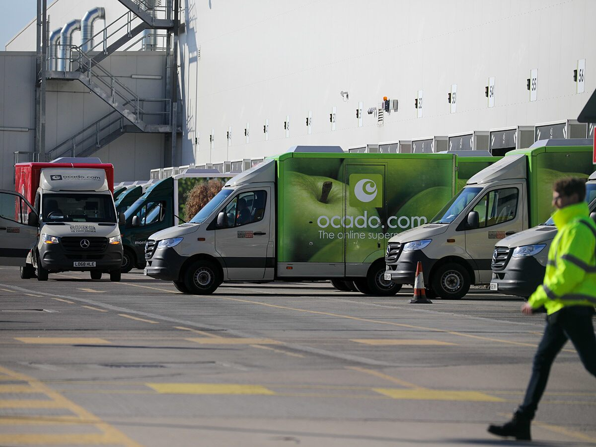 Ocado's share price keeps on delivering