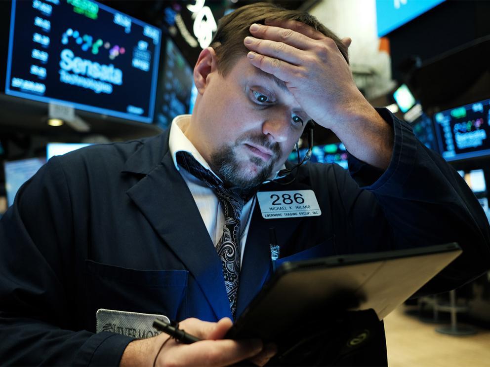Dow has technically fallen into a bear market
