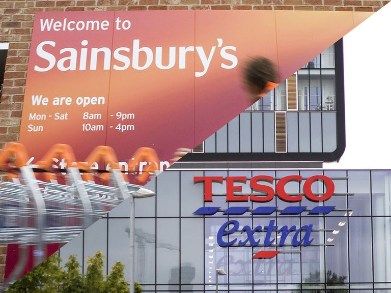 Tesco v Sainsbury's: which share price offers the biggest discount?