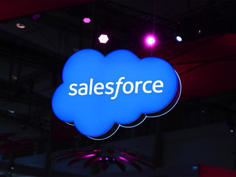 Salesforce share price: a cloud tour de force?