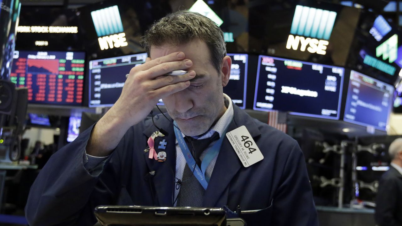 Markets continue their sell-off