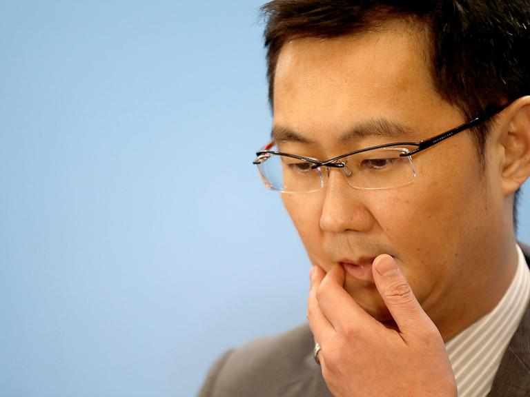 How could a partnership with BlackRock affect Tencent's share price?