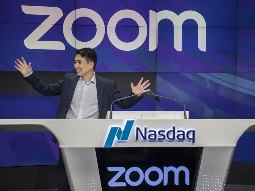 Zoom share price rally set to continue