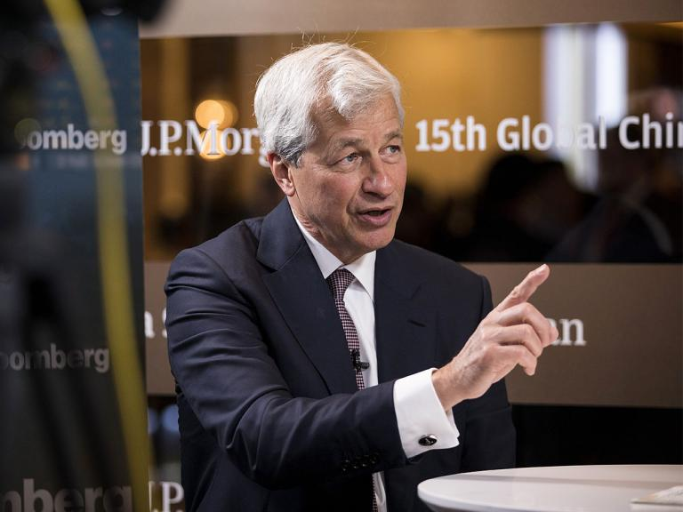 How much upside is in JPMorgan's share price?