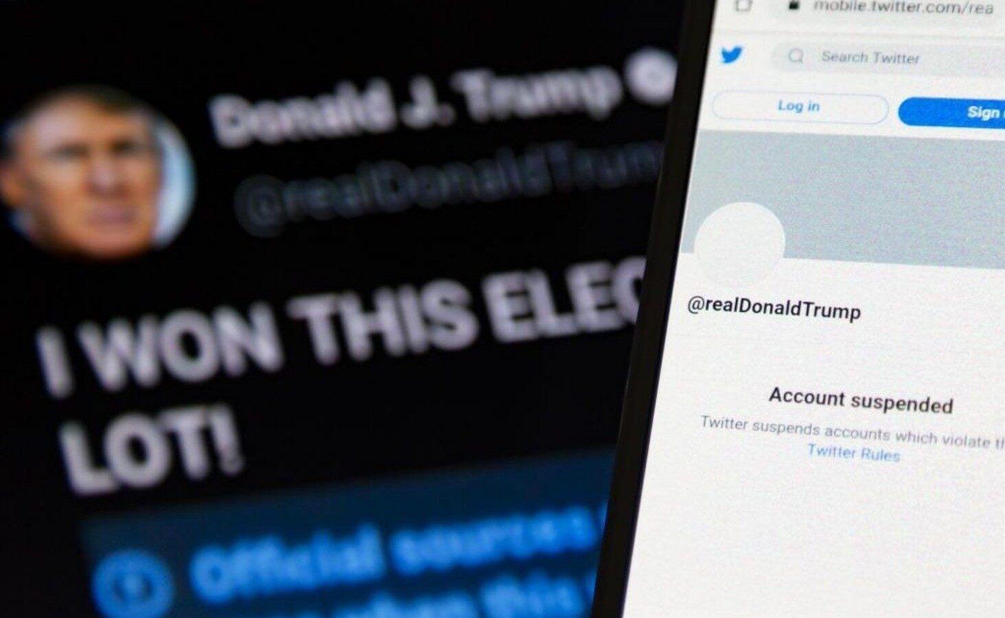 Twitter Stock Drops 10% After Trump Ban