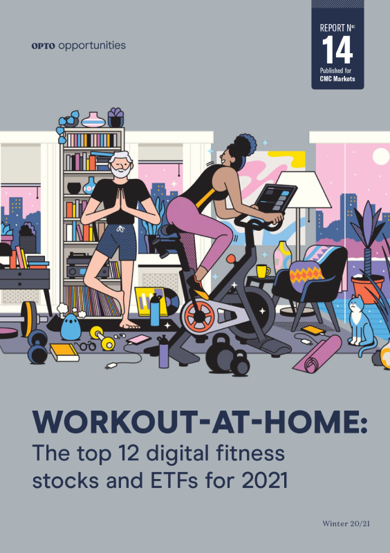 The top 12 digital fitness stocks and ETFs for 2021