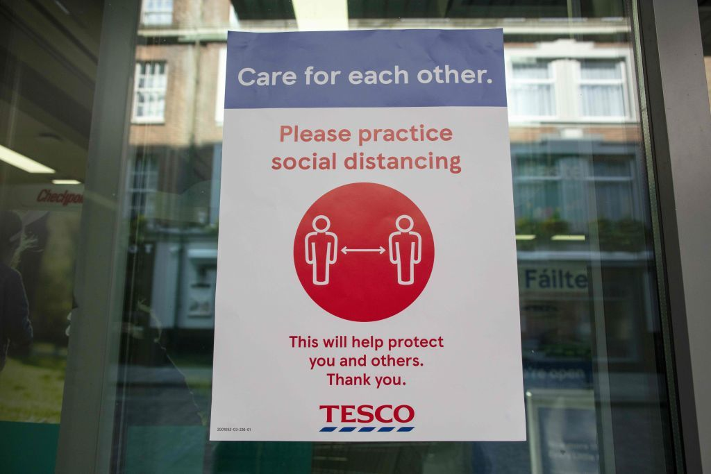 Higher costs hit Tesco, while European shares slip as infection rates start rising again
